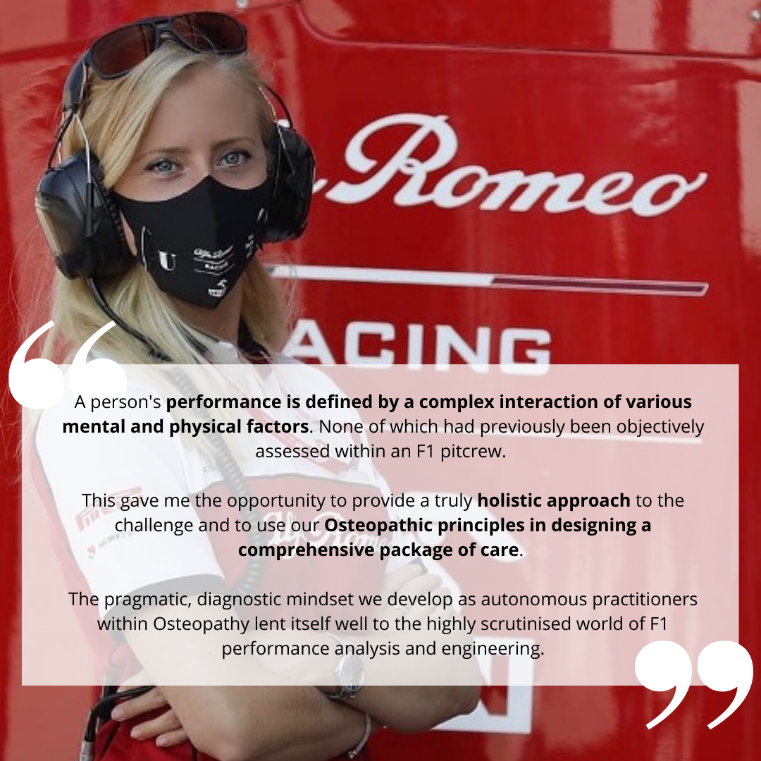 Formula One quote