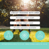 Outdoors Circuits with Arek